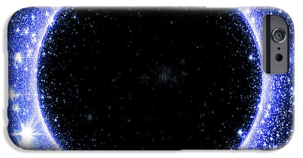 Constellations iPhone Cases - Serpens Sable iPhone Case by Rybird Music