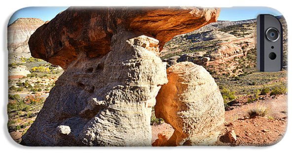 Serpent Photographs iPhone Cases - Serpent Trail Caprock iPhone Case by Ray Mathis