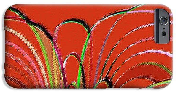 Ben Gertsberg Digital Art iPhone Cases - Serpentine iPhone Case by Ben and Raisa Gertsberg