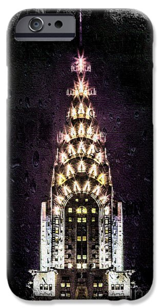 Ny Ny Digital Art iPhone Cases - Set In Stone iPhone Case by Az Jackson