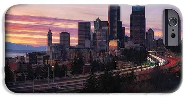 Safeco iPhone Cases - Setting iPhone Case by Ryan Manuel