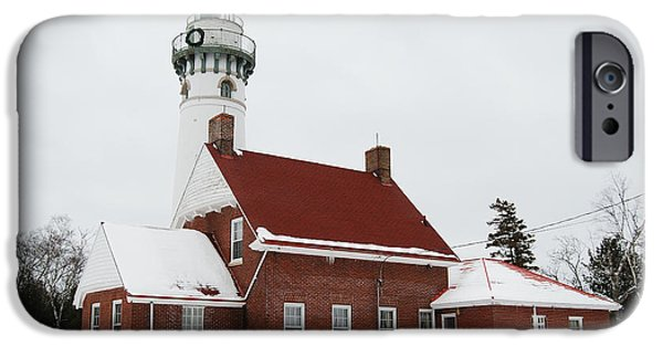 Gullivers iPhone Cases - Seul Choix Point Lighthouse iPhone Case by Michael Peychich