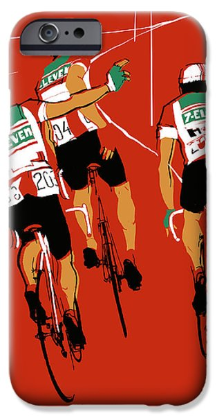 Uniform Drawings iPhone Cases - Seven Eleven iPhone Case by Eliza Southwood