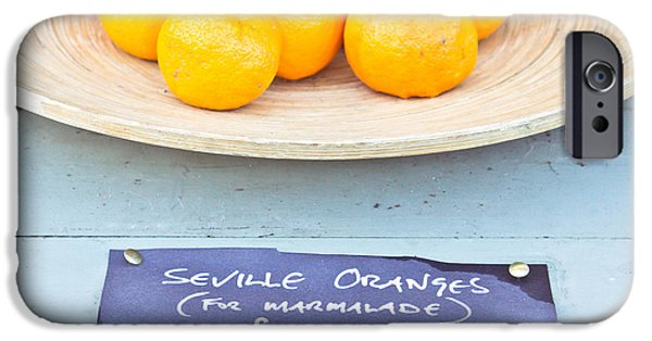 Sterling iPhone Cases - Seville oranges iPhone Case by Tom Gowanlock