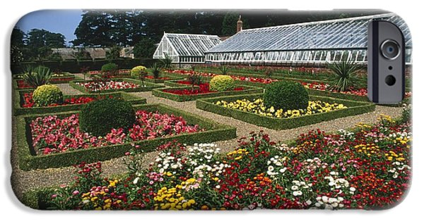 Garden Scene iPhone Cases - Sewerby Gardens iPhone Case by Michael R Chandler