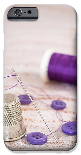 Sewing iPhone Cases - Sewing Thimble iPhone Case by Amanda And Christopher Elwell