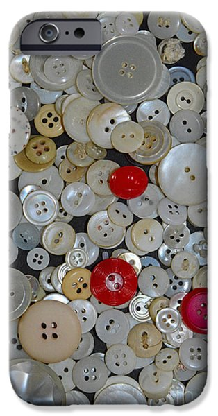 Mending iPhone Cases - Sewing - When You Need a Button iPhone Case by Paul Ward