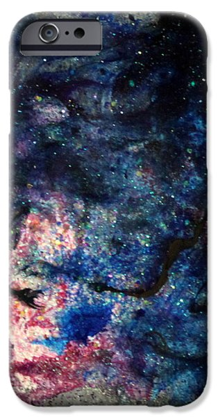 Splashy Paintings iPhone Cases - Sa122 iPhone Case by Kathleen Fowler