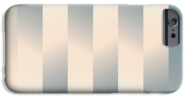 Geometric Design iPhone Cases - Shaded Columns iPhone Case by Gary Grayson