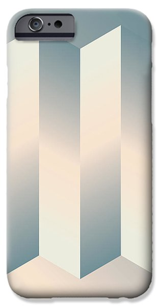 Shaded Columns iPhone Case by Gary Grayson