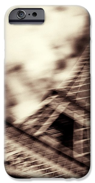 Shades of Paris iPhone Case by Dave Bowman