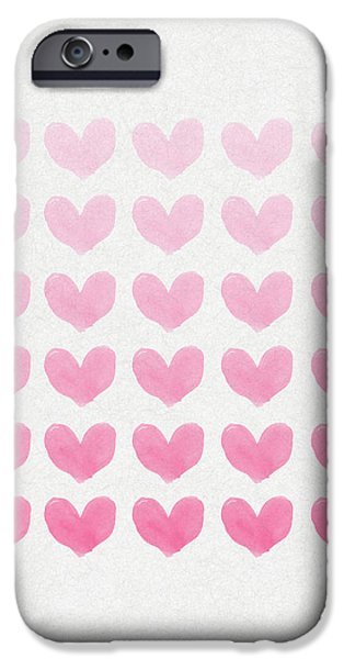 Shades of Pink iPhone Case by Aged Pixel