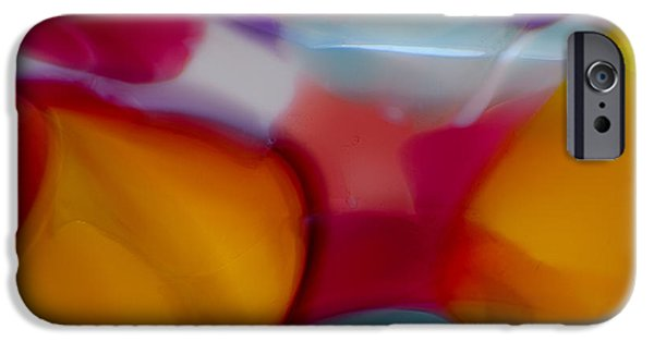 Storm iPhone Cases - Shades of Red iPhone Case by Omaste Witkowski