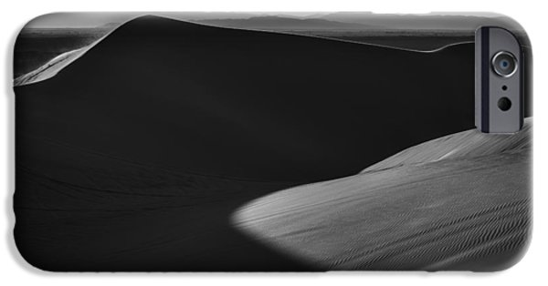 Sand Dunes iPhone Cases - Shadow Cast iPhone Case by Peter Tellone