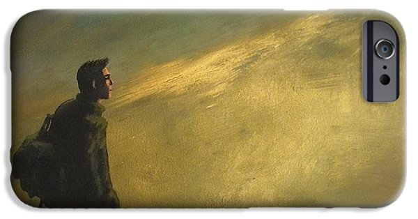Exploring Paintings iPhone Cases - Shadow of the colossus iPhone Case by Markus Newman