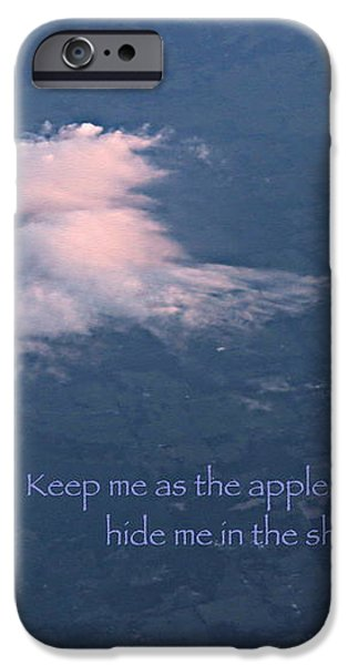 Shadow of Your Wings iPhone Case by Kume Bryant