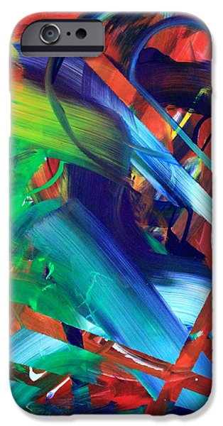 Abstract Movement iPhone Cases - Shadow Play iPhone Case by Richard Day