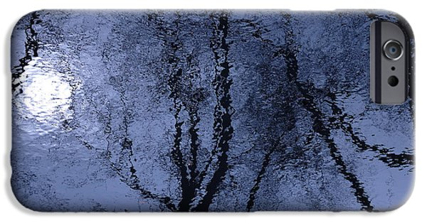 Abstract Digital Photographs iPhone Cases - Shadows of Reality  iPhone Case by Steven Milner