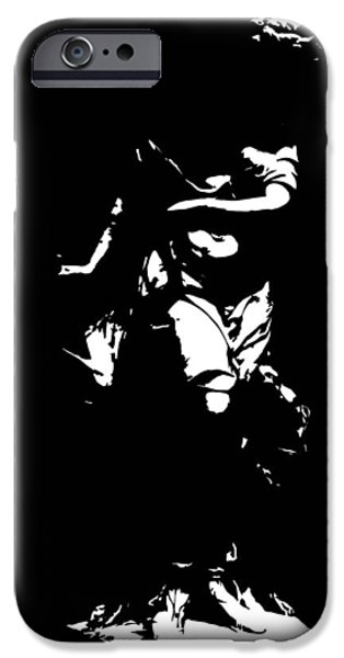Film Sculptures iPhone Cases - Estatua iPhone Case by Julio R Lopez Jr
