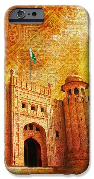 Shahi Qilla or Royal Fort iPhone Case by Catf