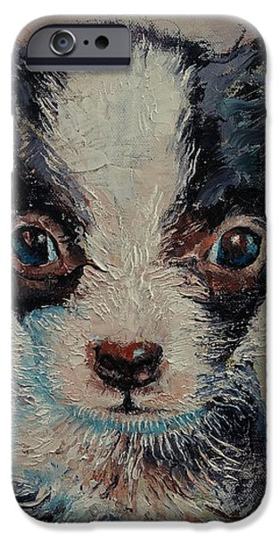 Shakespeare iPhone Case by Michael Creese