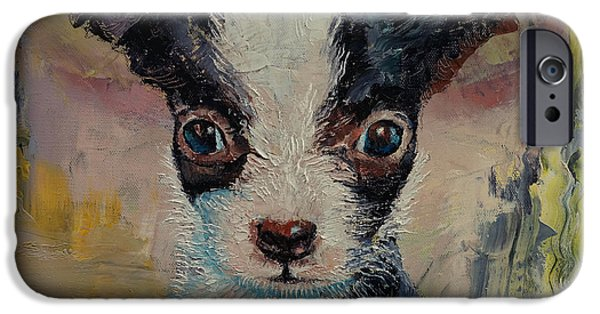 Michael Paintings iPhone Cases - Shakespeare iPhone Case by Michael Creese