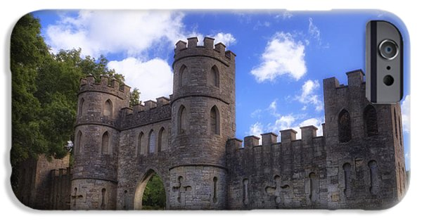 Somerset iPhone Cases - Sham Castle iPhone Case by Joana Kruse