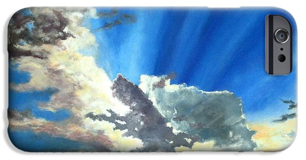 Storm iPhone Cases - Shannons Sky iPhone Case by Michael Dillon