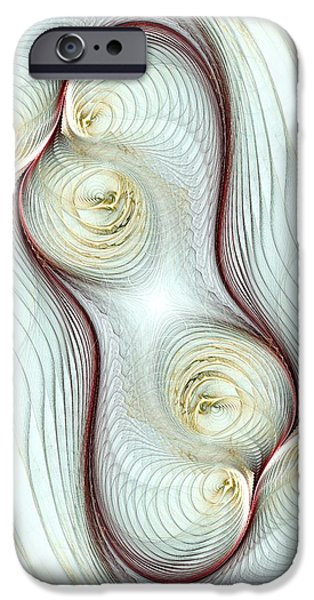 Figure iPhone Cases - Shapes iPhone Case by Anastasiya Malakhova