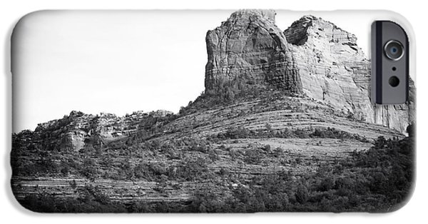 Oak Creek iPhone Cases - Shapes of Oak Creek Canyon iPhone Case by John Rizzuto