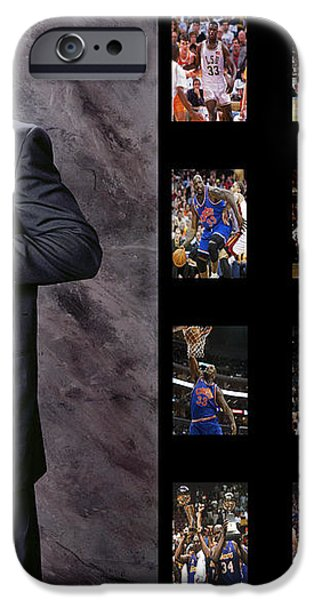shaquille o'neal iPhone Case by Joe Hamilton