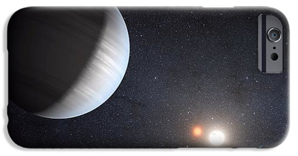 Moon iPhone Cases - Sharing Two Suns iPhone Case by Movie Poster Prints