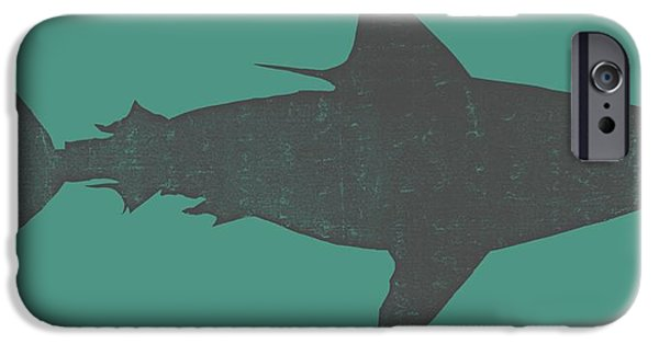 Shark iPhone Cases - Shark ll iPhone Case by Michelle Calkins