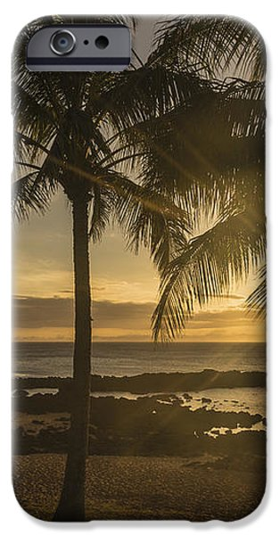 Sharks Cove Sunset 2 - Oahu Hawaii iPhone Case by Brian Harig