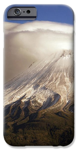 Shasta Storm iPhone Case by Bill Gallagher
