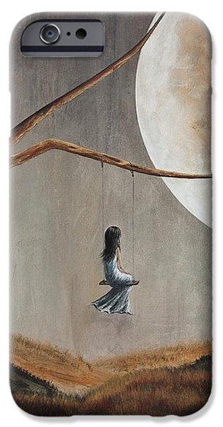 She Feels Memories by Shawna Erback iPhone Case by Shawna Erback