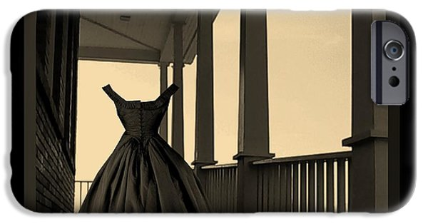 West Fork iPhone Cases - She Walks the Halls iPhone Case by Barbara St Jean