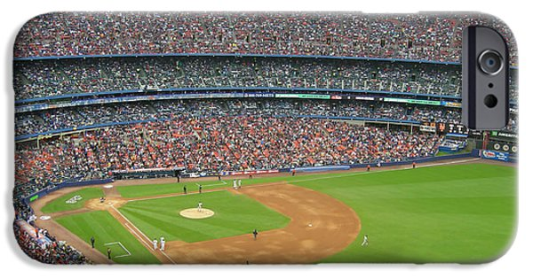 Shea Stadium iPhone Cases - Shea Stadium iPhone Case by Nomad Art And  Design