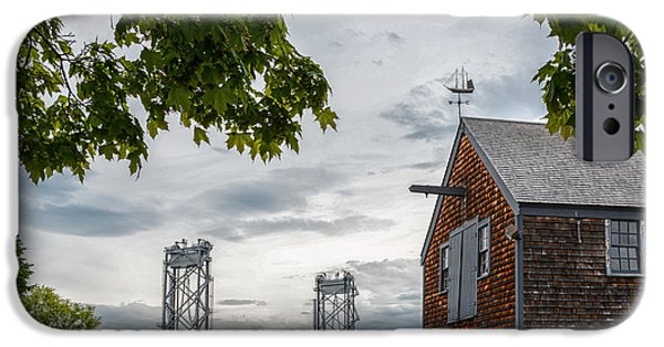 Prescott iPhone Cases - Sheafe Warehouse iPhone Case by Scott Thorp