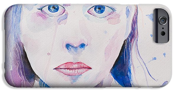 Michael Versprill iPhone Cases - Shed A Tear iPhone Case by Michael Ver Sprill