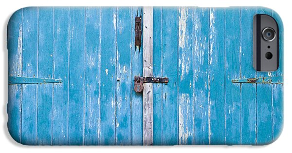 Shed iPhone Cases - Shed door iPhone Case by Tom Gowanlock