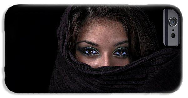 Shawl iPhone Cases - Sheherazade iPhone Case by Joachim G Pinkawa
