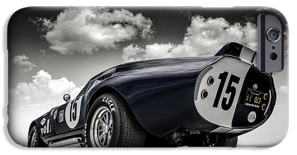 Cars iPhone Cases - Shelby Daytona iPhone Case by Douglas Pittman