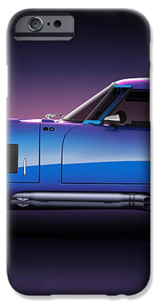 Shelby Daytona - Velocity iPhone Case by Marc Orphanos