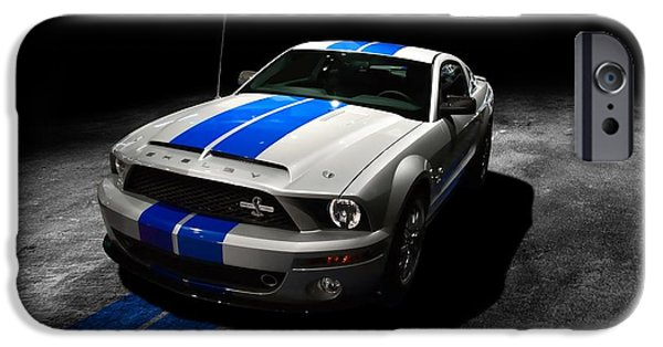 Art Work iPhone Cases - Shelby GT iPhone Case by Art Work