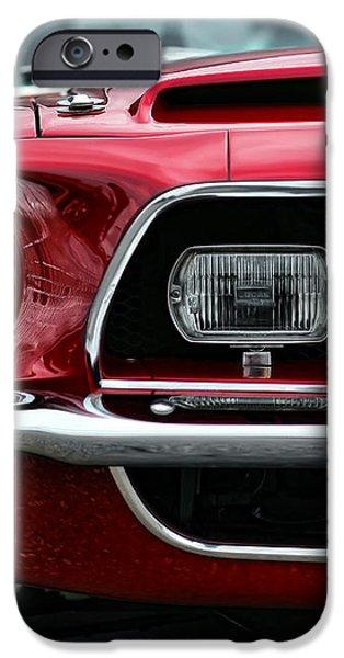 Shelby Mustang iPhone Case by Gordon Dean II