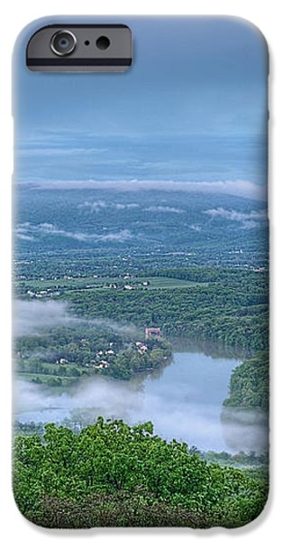 Shenandoah Evening Fog iPhone Case by Lara Ellis