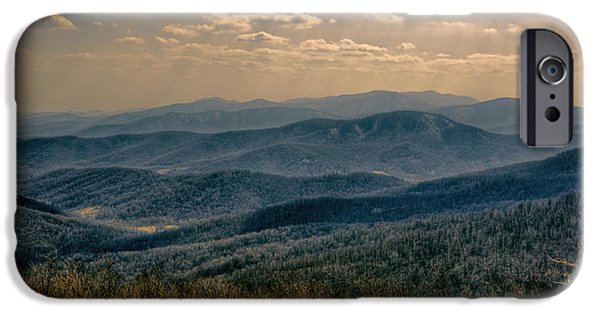 Rural iPhone Cases - Shenandoah Vista iPhone Case by Joan Carroll