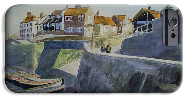 East Village iPhone Cases - Sheringham Seafront Circa 1975 iPhone Case by Martin Howard