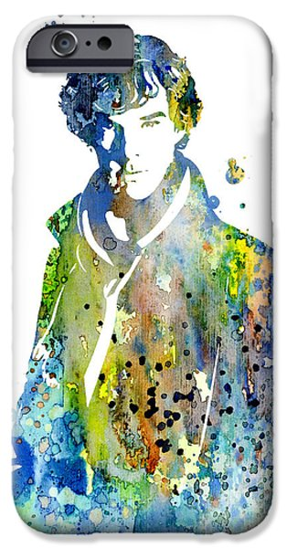 Watson iPhone Cases - Sherlock Holmes iPhone Case by Luke and Slavi